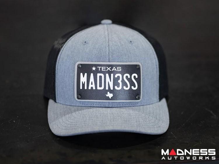 Cap - Trucker Style - w/ Texas Black Plate + MADN3SS