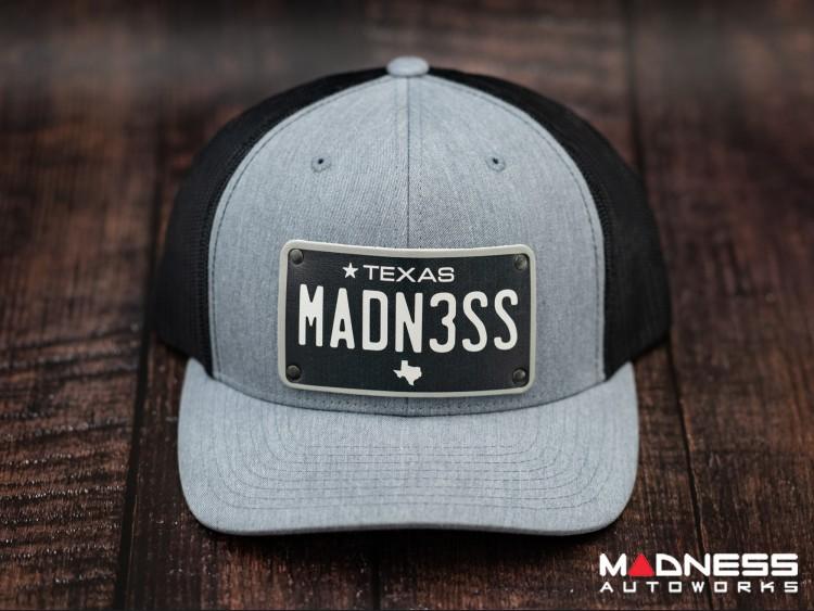 Cap - Trucker Style w/ Texas Black Plate + MADN3SS