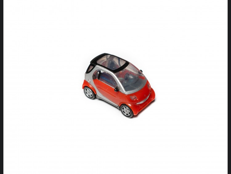 smart fortwo Model - 450 Model - 1/ 72 scale - Red