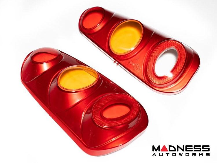 smart fortwo Tail Light Set - 450 model - Red w/ Amber Lenses