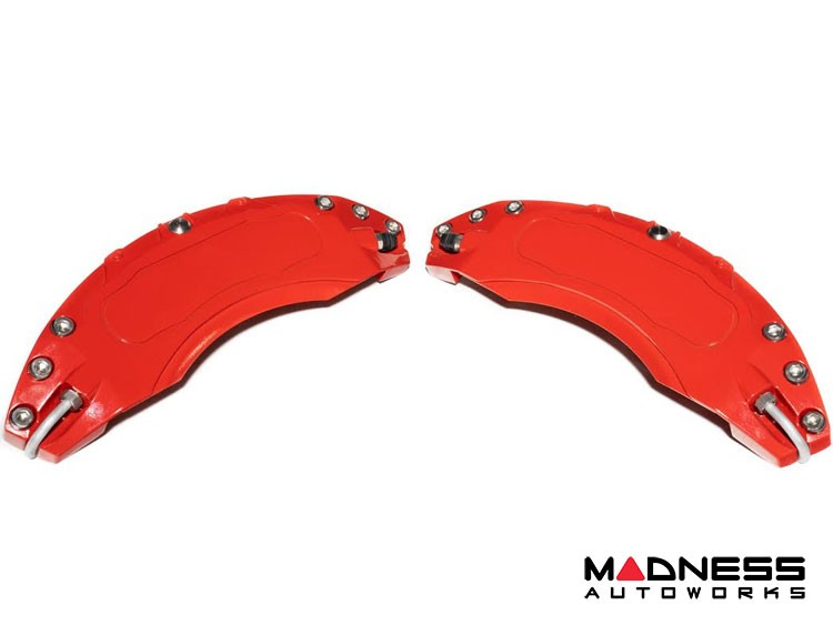 smart fortwo Front Caliper Covers - 451 model - Red