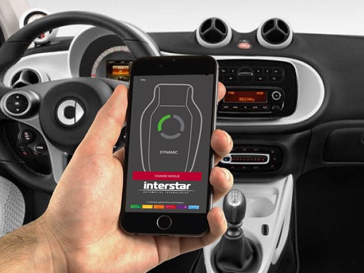 smart fortwo 453 Throttle Controller - InterStar PowerPedal