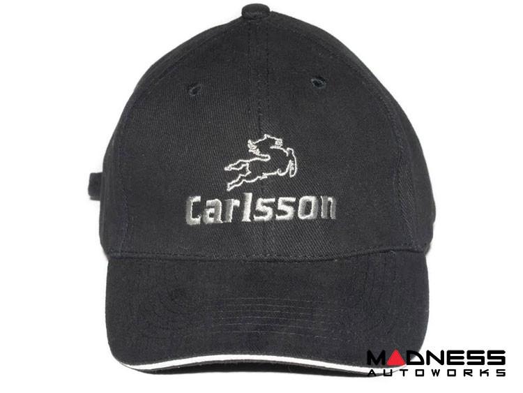Cap - smart - Black w/ Carlsson Logo