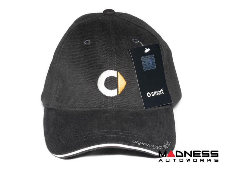 Cap - smart - Black w/ smart Logo
