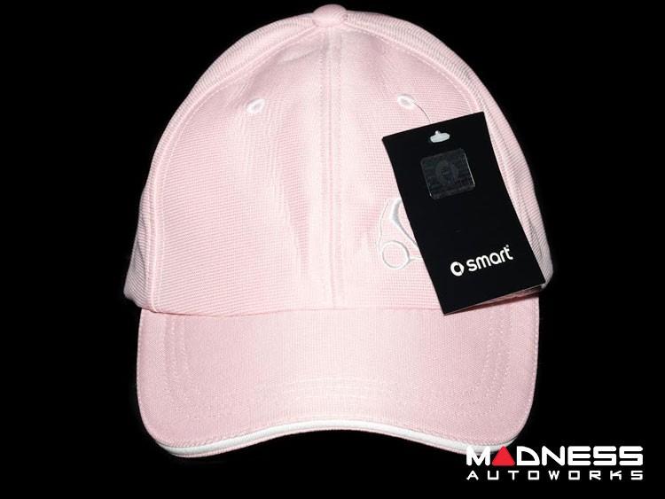 Cap - smart - Pink w/ smart Silhouette