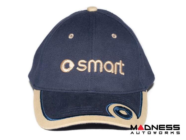 Cap - smart - Blue w/ smart Logo