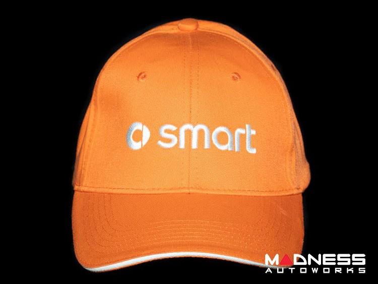Cap - smart - Orange w/ smart Logo