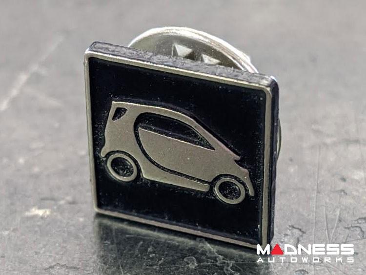 smart Jewelry - Enamel Pin - smart Silhouette