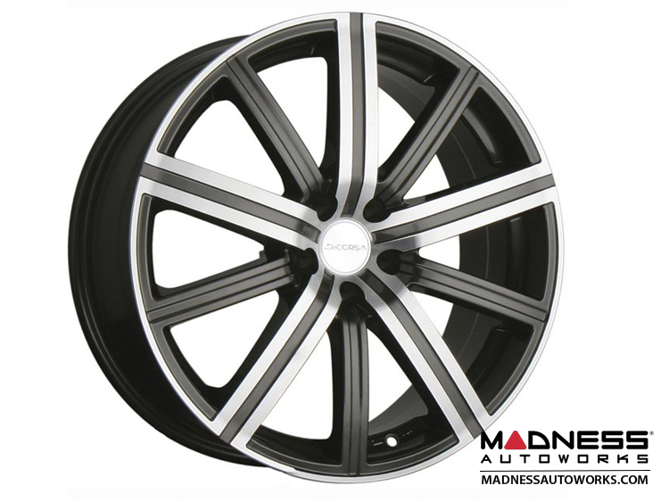 "smart fortwo Custom Wheels - 453 model - Illusion - Gunmetal w/ Machined Face - 17"" (Set of 4)"
