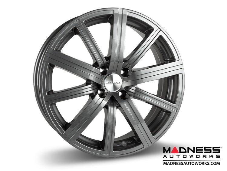 "smart fortwo Custom Wheels - 453 model - Illusion - Custom Gloss Gunmetal Finish - 17"" (Set of 4)"