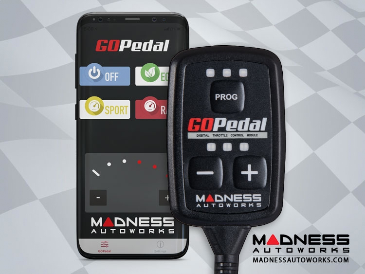 smart fortwo Throttle Controller - MADNESS GOPedal - 451 NA model - Bluetooth Controls