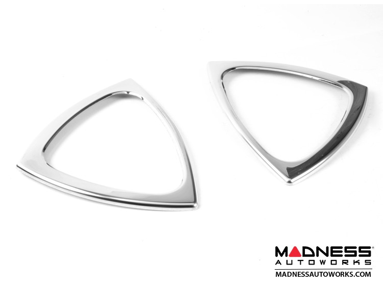 smart fortwo Door Handle Surround Trim Kit - 450 Model - Polished Stainless Steel