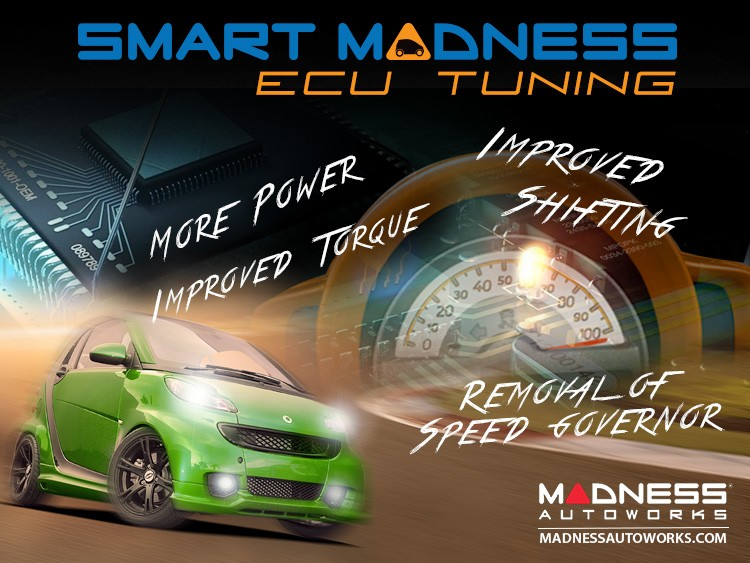 smart fortwo ECU Tune by MADNESS - 451 Model