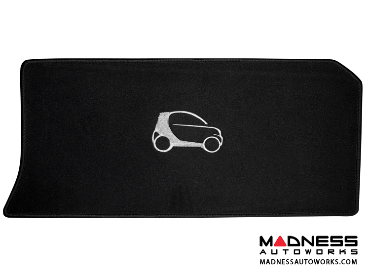 smart fortwo Cargo Area Mat - 450 - LUXUS - Black Binding