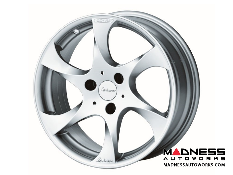 smart fortwo Custom Wheels - 451 model - Lorinser - Brilliant Silver Finish (Set of 4)