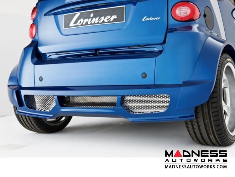 smart fortwo Rear Bumper - 451 model - Lorinser