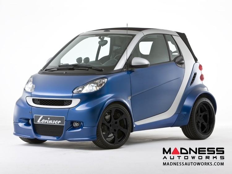 smart fortwo Complete Interior/ Exterior Package w/ Wheels - 451 model - Lorinser - Black Satin