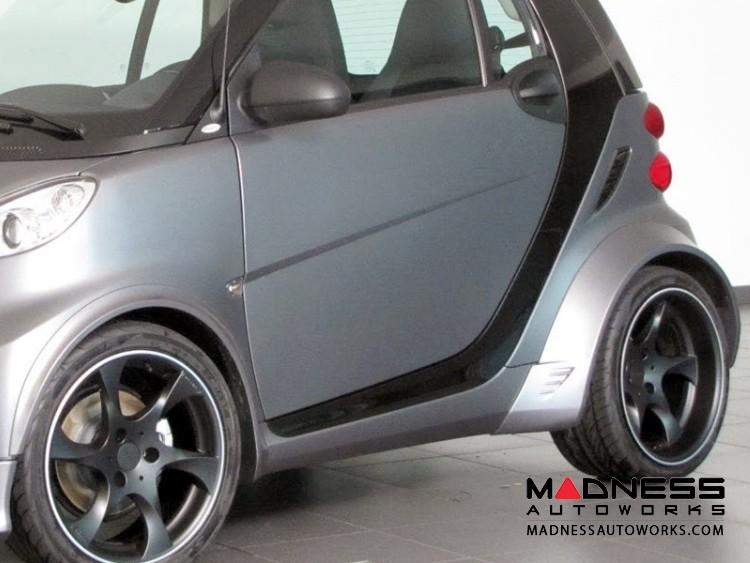 smart fortwo Complete Wide Body Styling Kit w/ Wheels - 451 model - Lorinser -  Black Satin Finish