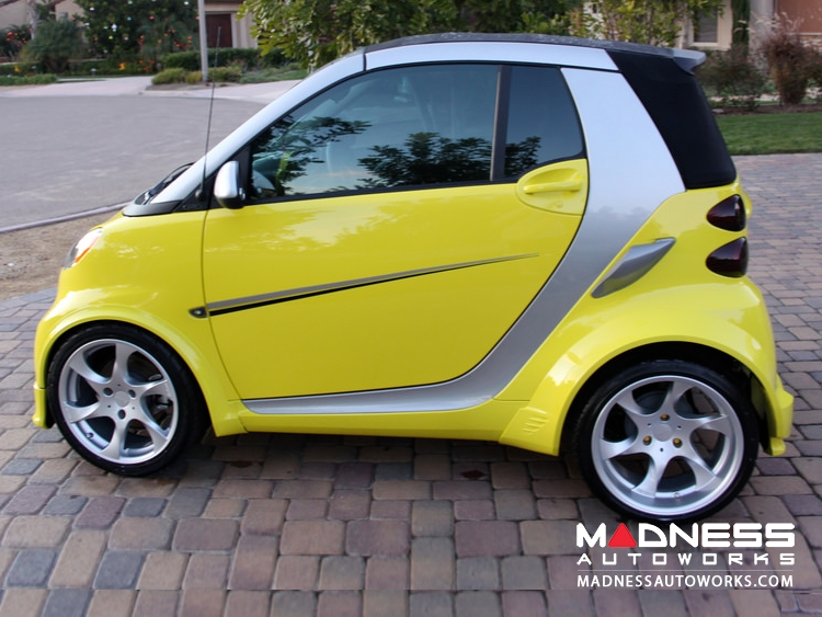 smart fortwo Complete Wide Body Styling Kit - 451 model - Lorinser