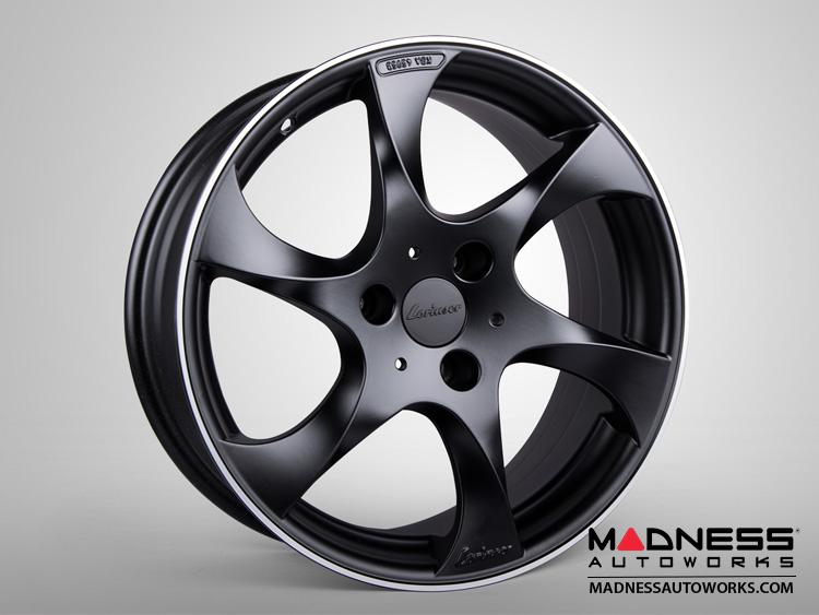 smart fortwo Custom Wheels - 451 model - Lorinser - Black Satin Finish (Set of 4)