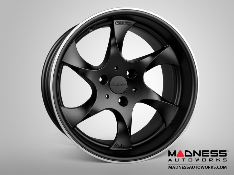 smart fortwo Custom Wheels - 451 model - Lorinser - Wide Body - Black Satin Finish (Set of 4)