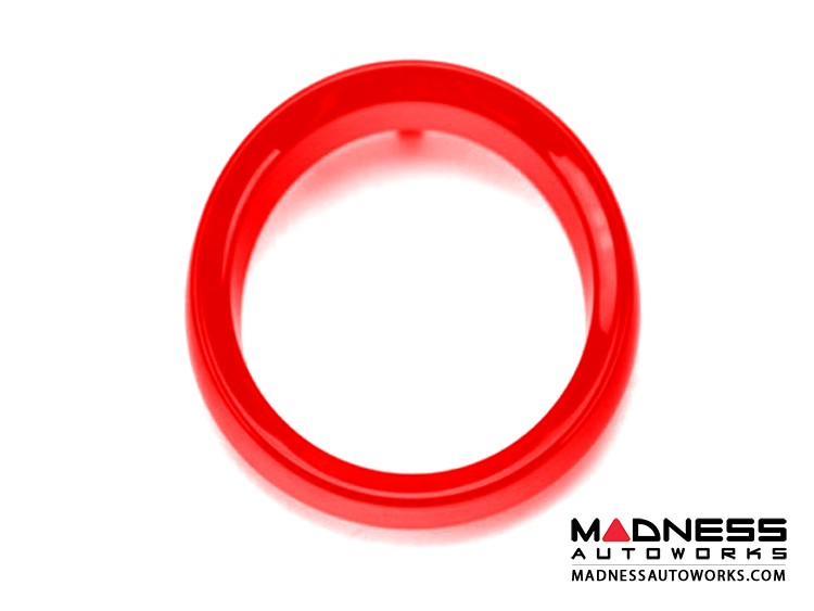 smart fortwo Pod Rings (set of 2) - 451 model - Red