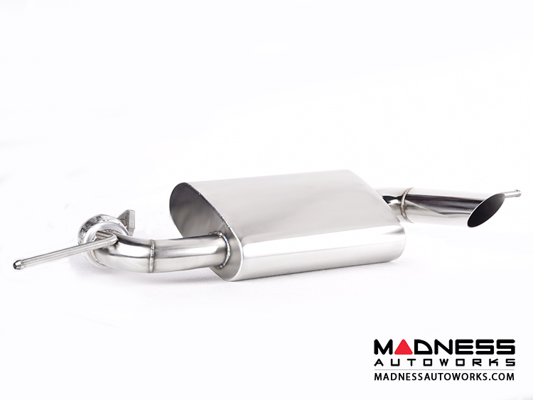 smart fortwo Performance Exhaust - 451 model - SILA Concepts - Side Exit