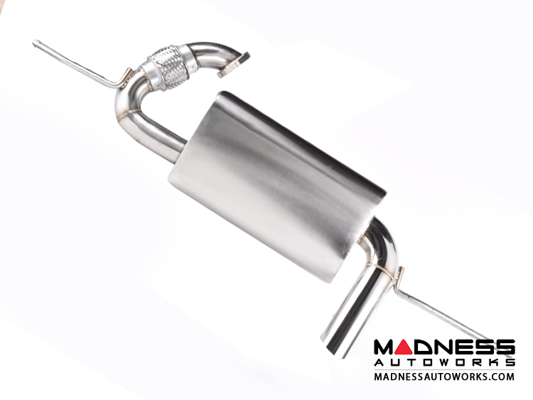 smart fortwo Performance Exhaust - 451 - SILA Concepts - Side Exit