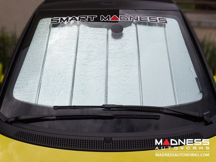 smart fortwo Windshield Sun Shade - 450 model - Ultimate Reflector - Cabrio
