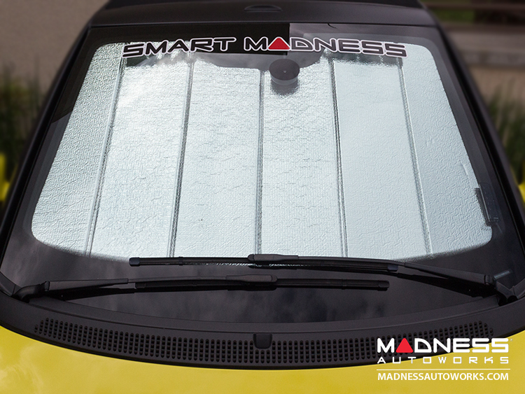 smart fortwo Windshield Sun Shade - 451 model - Ultimate Reflector - Cabrio