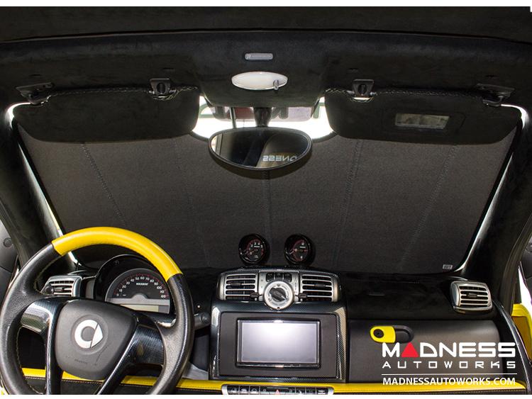 smart fortwo Windshield Sun Shade - 451 model - Ultimate Reflector - Cabrio
