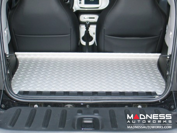 smart fortwo Trunk Cover - 453 model - Aluminum