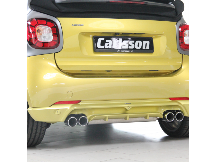 smart fortwo Rear Diffuser - 453 - Carlsson