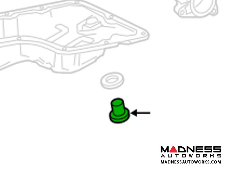 smart fortwo Oil Drain Plug - 453 model - Genuine smart