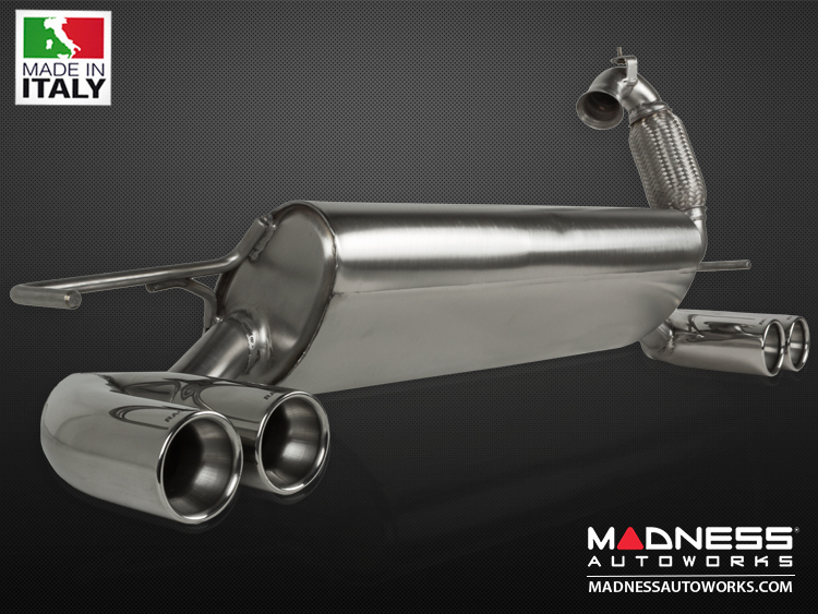 smart fortwo Performance Exhaust - 453 model - Ragazzon - Top Line - Dual Exit / Quad Tip