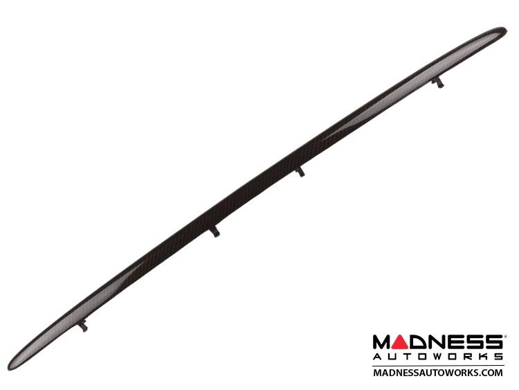 smart fortwo Lower Grill Trim Piece - 453 model - Carbon Fiber Look