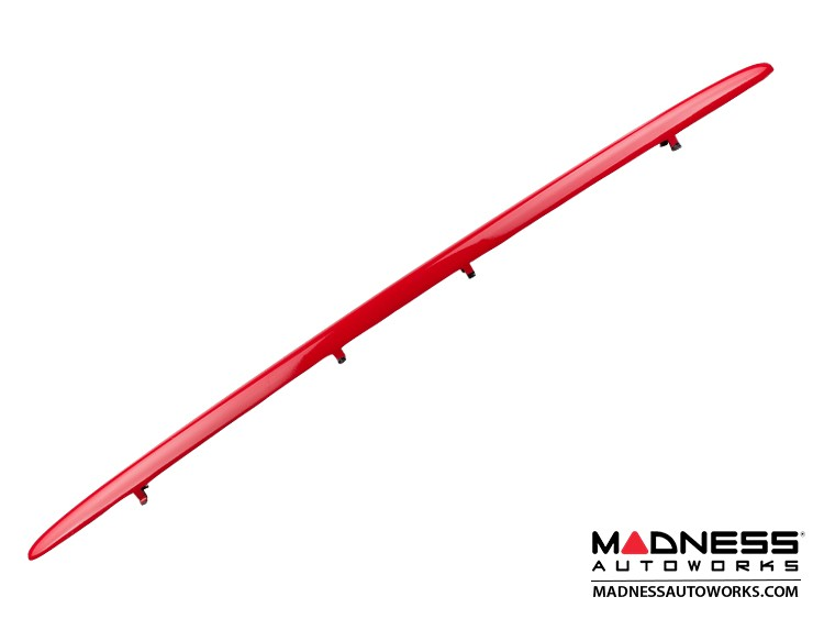smart fortwo Lower Grill Trim Piece - 453 model - Rally Red