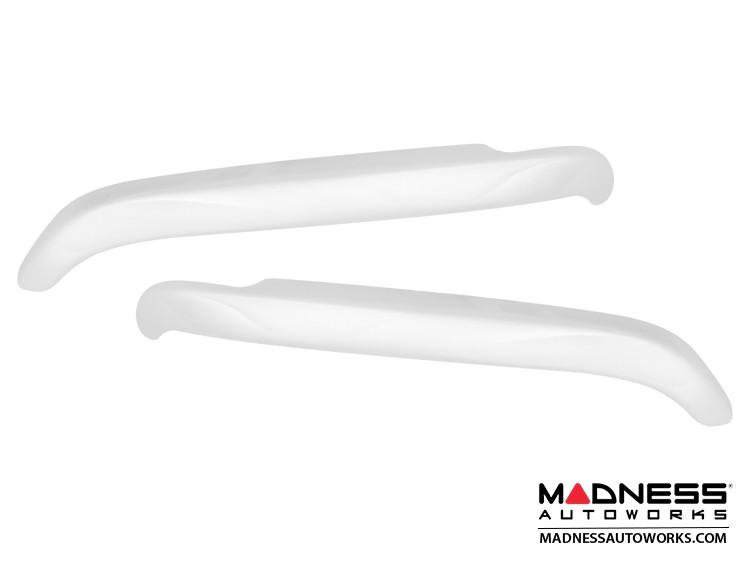 smart fortwo Eyebrows/ Headlight Trim - 453 model - Moon White
