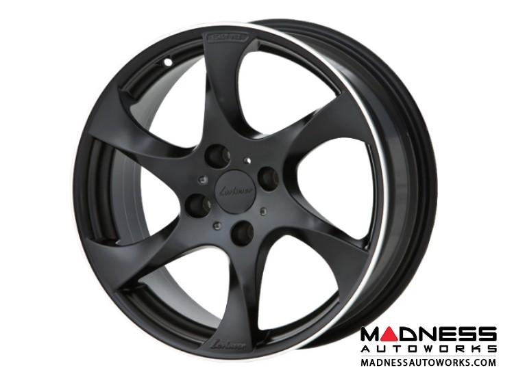"smart fortwo Custom Wheels by Lorinser - 453 model - 7.5x17"" - Black Satin Finish (Set of 4)"