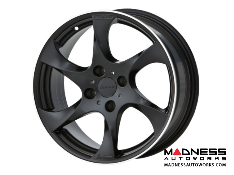 "smart fortwo Custom Wheels by Lorinser - 453 model - 7.5x17"" - Black Satin Finish (Set of 4)"