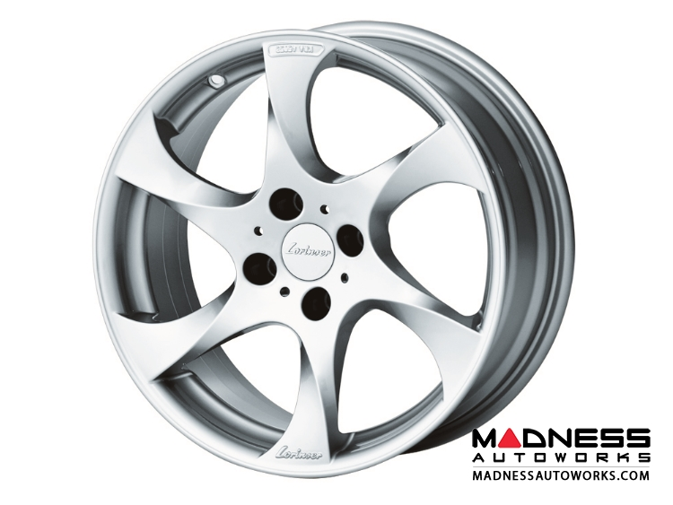 "smart fortwo Custom Wheels by Lorinser - 453 model - 7.5x17"" -Silver Finish (Set of 4)"