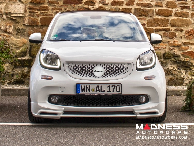 smart fortwo Complete Styling Kit w/ Wheels - 453 - Lorinser - Brilliant Silver