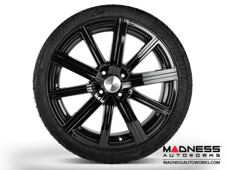 """smart fortwo Custom Wheel/ Tire/ Sensor Package - 453 model - llusion - Custom Gloss Black Finish - 17"""""""