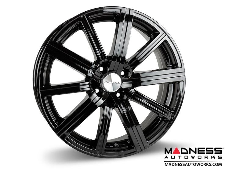 "smart fortwo Custom Wheels - 453 model - Illusion - Custom Gloss Black Finish - 17"" (Set of 4)"