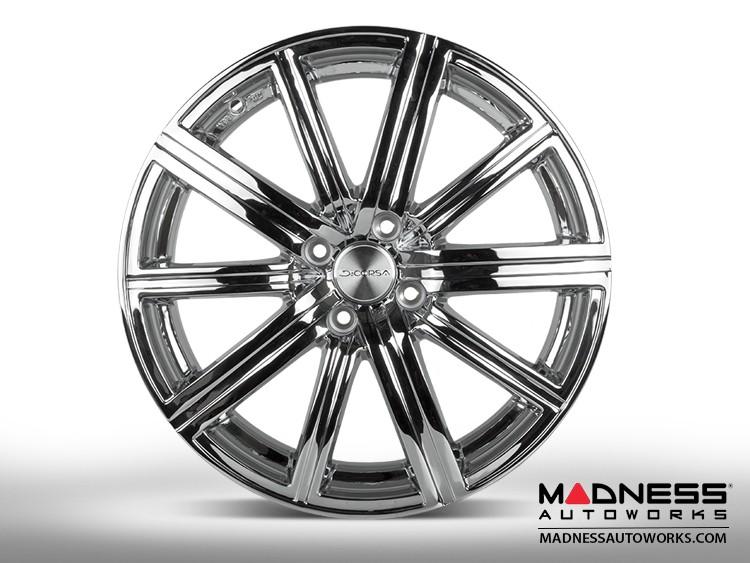 "smart fortwo Custom Wheel/ Tire/ Sensor Package - 453 model - Illusion - Custom Chrome Finish - 17"""