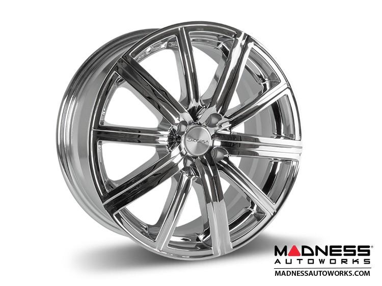 "smart fortwo Custom Wheels - 453 model - Illusion - Custom Chrome Finish - 17"" (Set of 4)"