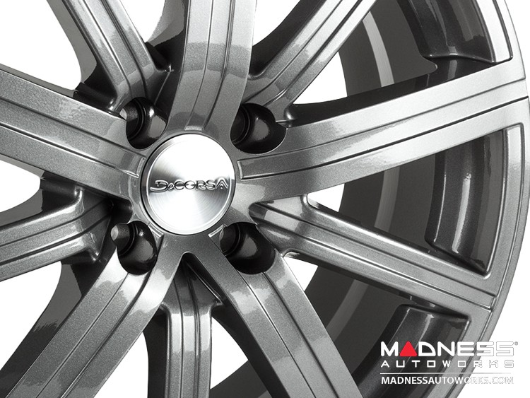 "smart fortwo Custom Wheel/ Tire/ Sensor Package - 453 model - Illusion - Custom Gloss Gunmetal Finish - 17"""