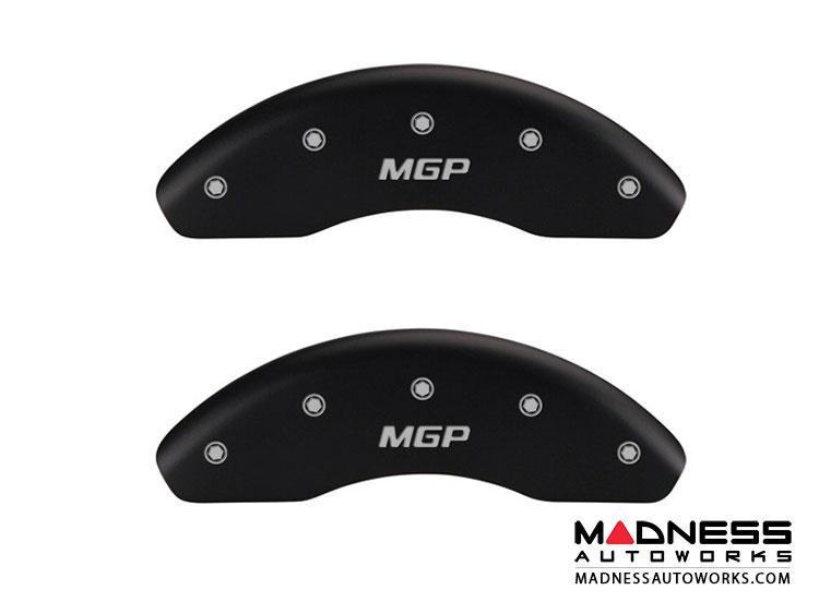smart fortwo Front Caliper Covers - MGP - Black w / MGP Logo