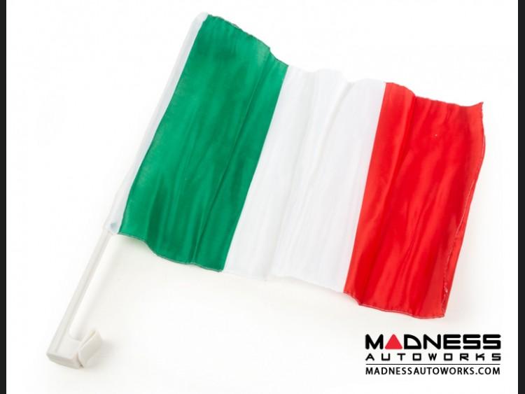 Italian Car Window Flag