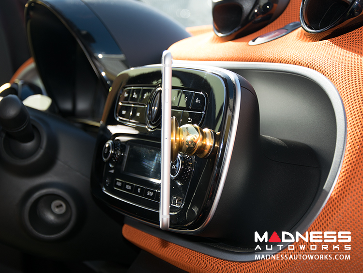 smart fortwo Phone Mount by MADNESS - Gold